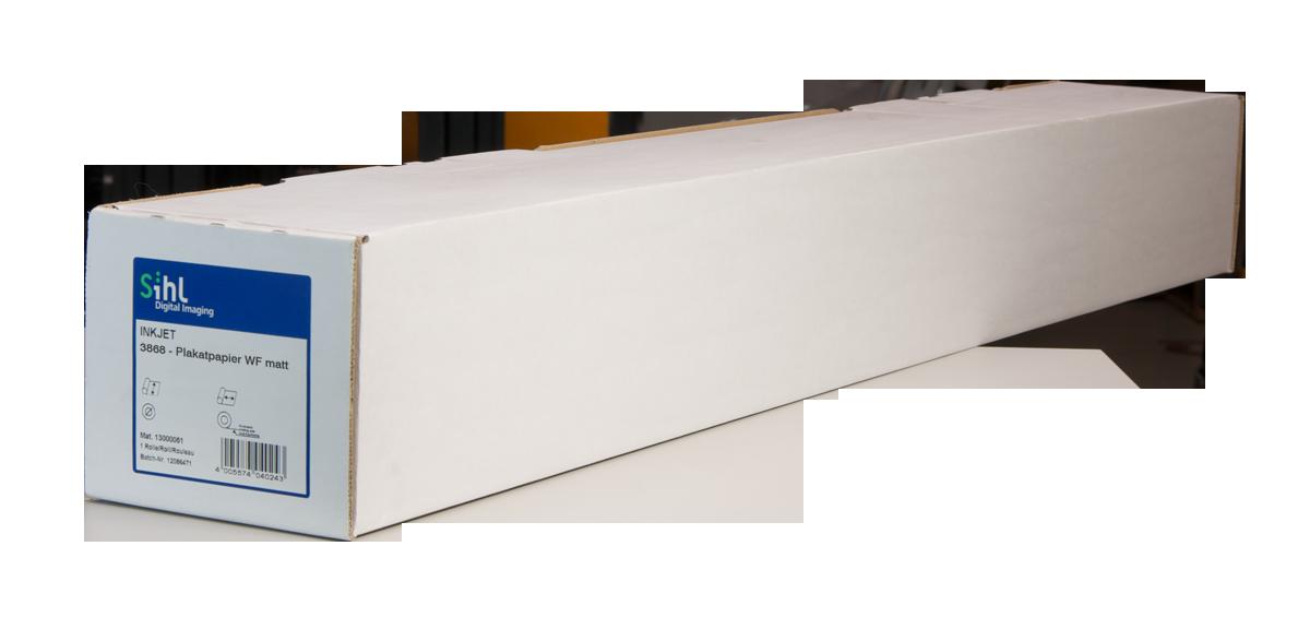 No Sihl 3868 Plakatpapier blueback WF matt - 914 mm x 40 m SIHL-3868-36