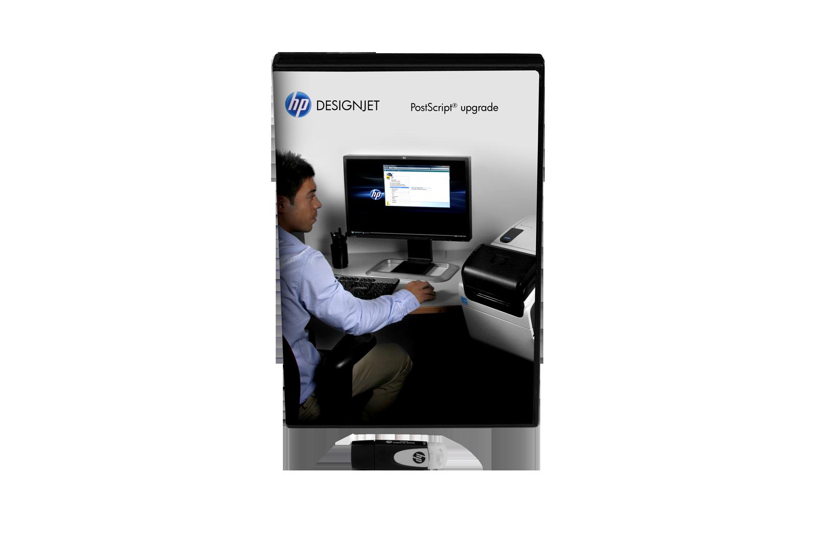 HP PostScript - Upgrade HPCN500B