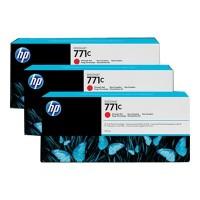 HP Nr 771C Multipack Chromatisches Rot 3 x 775ml