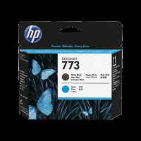 HP Nr. 773 Druckkopf mattschwarz/cyan