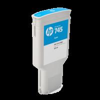 HP Nr. 745 Tintenpatrone Cyan  - 300 ml