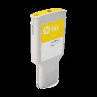 HP Nr. 745 Tintenpatrone Gelb - 300 ml