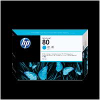 HP Nr. 80 Tintenpatrone cyan - 350 ml