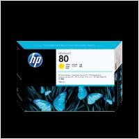 HP Nr. 80 Tintenpatrone gelb - 350 ml
