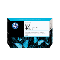 HP Nr. 80 Tintenpatrone schwarz - 350 ml