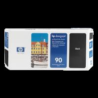 HP Nr. 90 Druckkopf und Reiniger schwarz