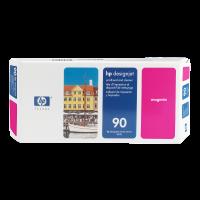 HP Nr. 90 Druckkopf und Reiniger magenta