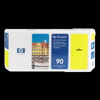 HP Nr. 90 Druckkopf und Reiniger gelb