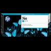 HP Nr. 766 Tintenpatrone cyan, 300 ml