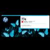HP Nr. 774 Tintenpatrone chromatisches Rot, 775 ml